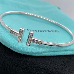 Tiffany & Co. T Wire Diamond Bracelet